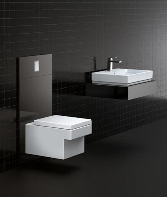 Pusse opp badet på lavbudsjett Grohe Monoblock vegghengt toalett Cube