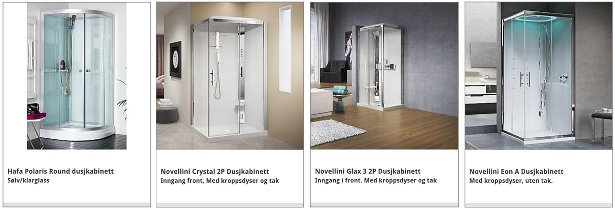 Hvilken dusj skal jeg velge NOVELLINI dusjkabinett