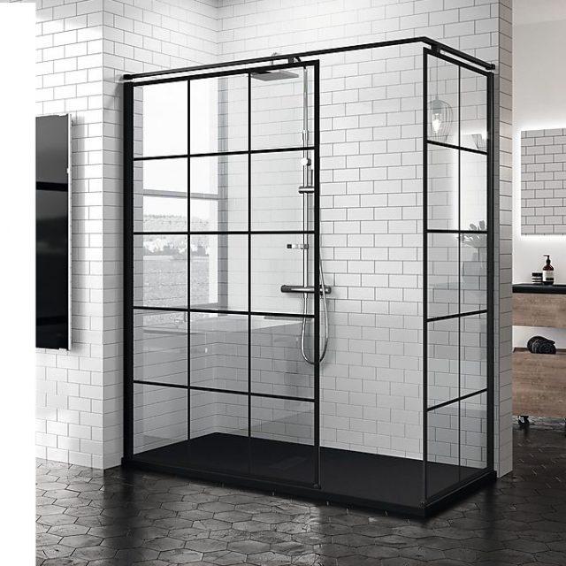 Hviken dusj skal jeg velge NOVELLINI kuadra dusjvegg