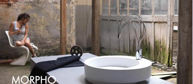 Morpho – en skulptur på badet