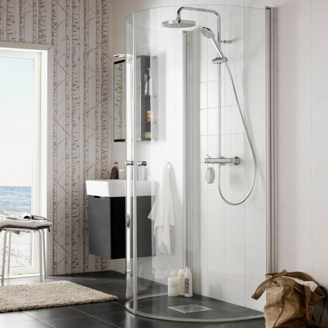Praktisk med IGLOO dusjdører