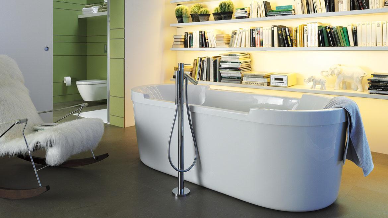 Hvor mange nordmenn tror du foretrekker badekar fremfor dusj?
