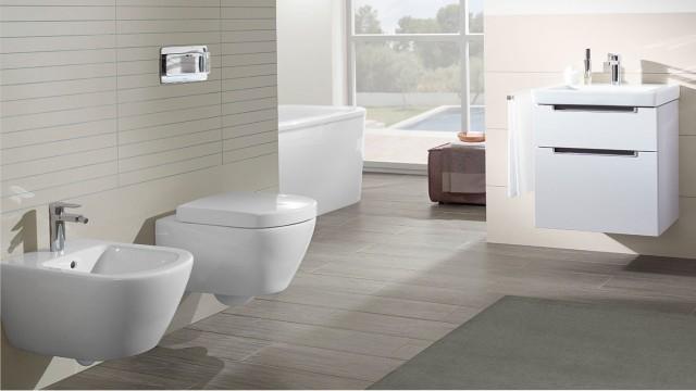 Beskytter mot bakterier! Toalett fra Villeroy & Boch