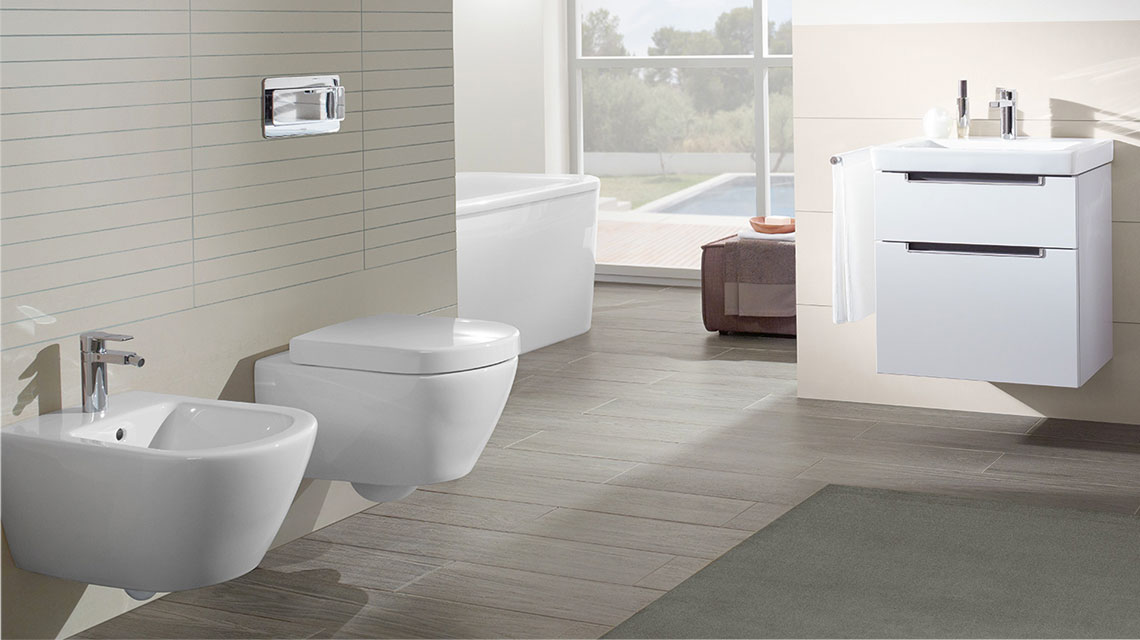 Tegn ditt bad med produkter fra Villeroy & Boch