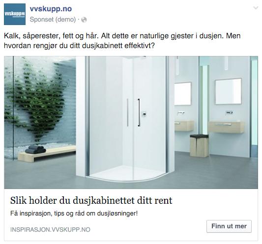 Facebook innlegg