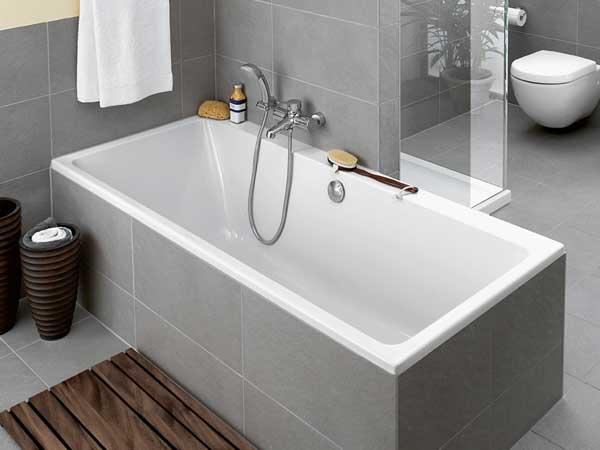 Innebygget badekar