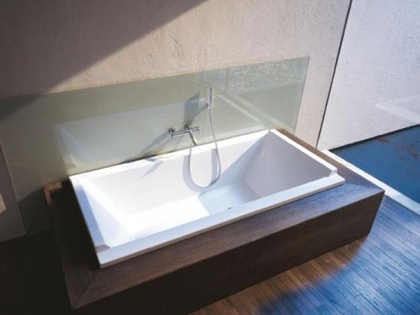 Flise inn badekar pris