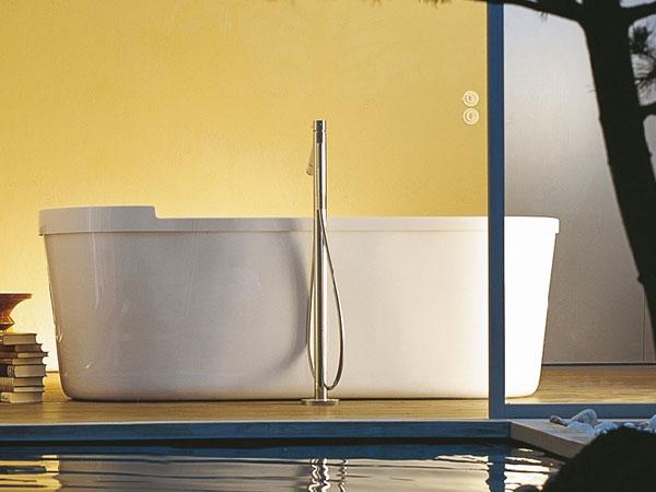 Duravit-Starck-Frittstaende-badekar