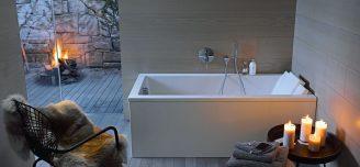 Rørlegger, duravit badekar