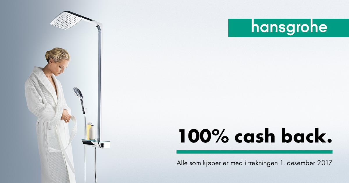Cash Back-kampanje: VINN EN DUSJ!