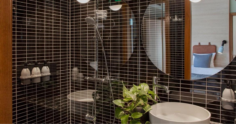 Hansgrohe på trendy hotell i Stockholm