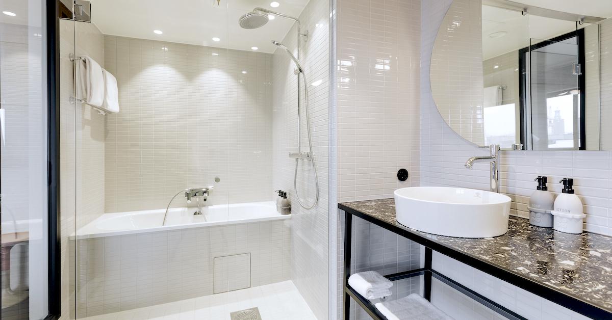Hansgrohe på trendigt Stockholms-hotell