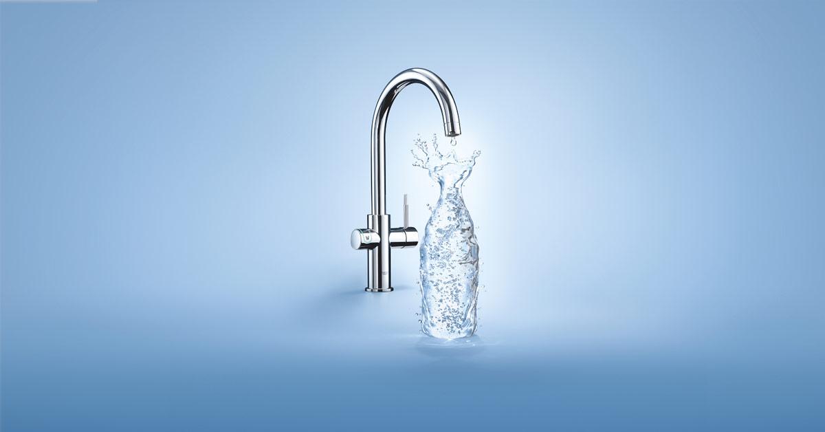 GROHE Blue Home: boblevann rett fra springen