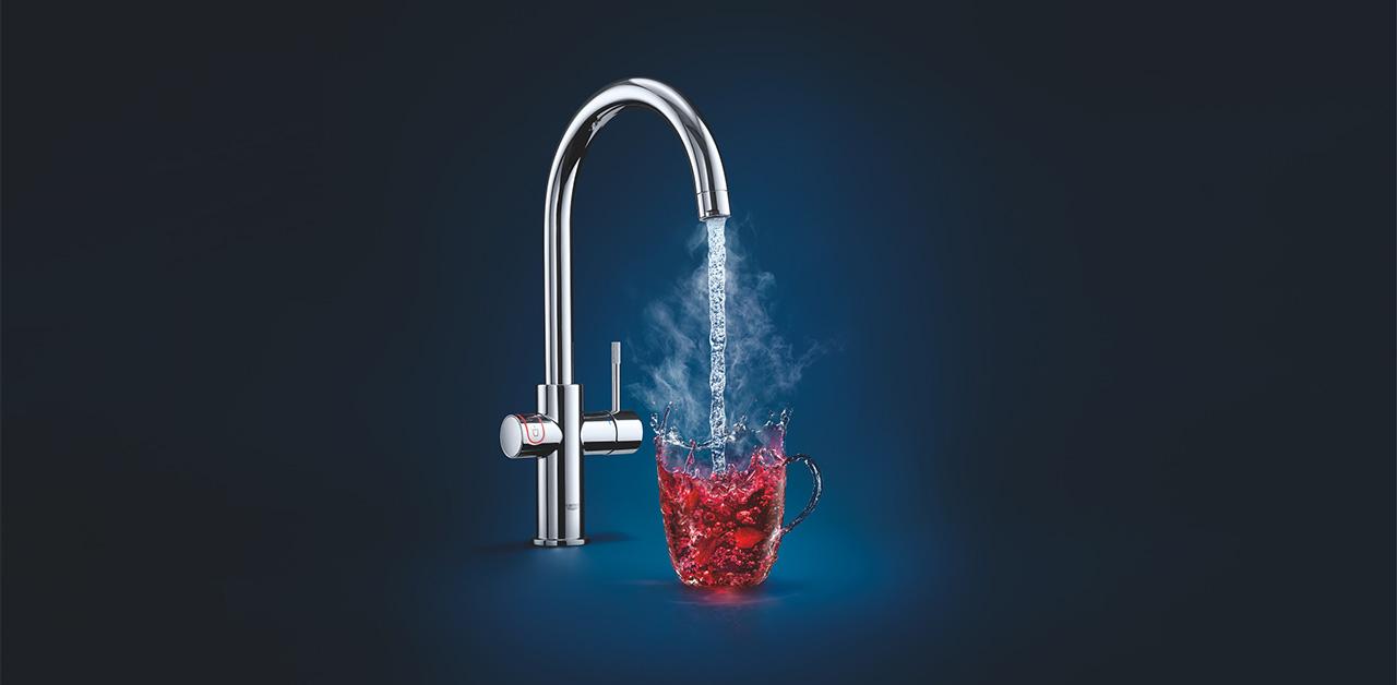 GROHE Red: kokende vann rett fra springen