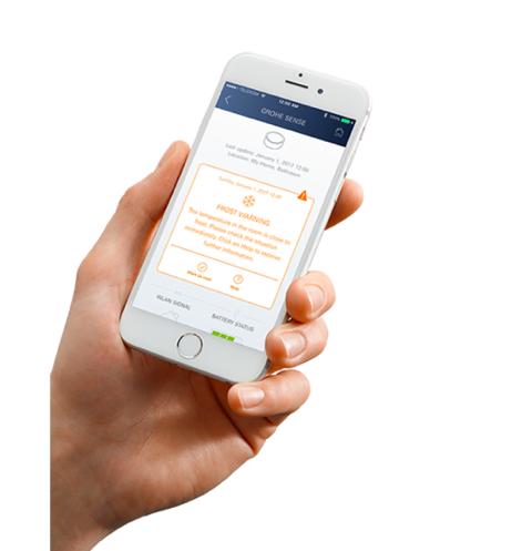GROHE Sense vannstopper varsler deg via app
