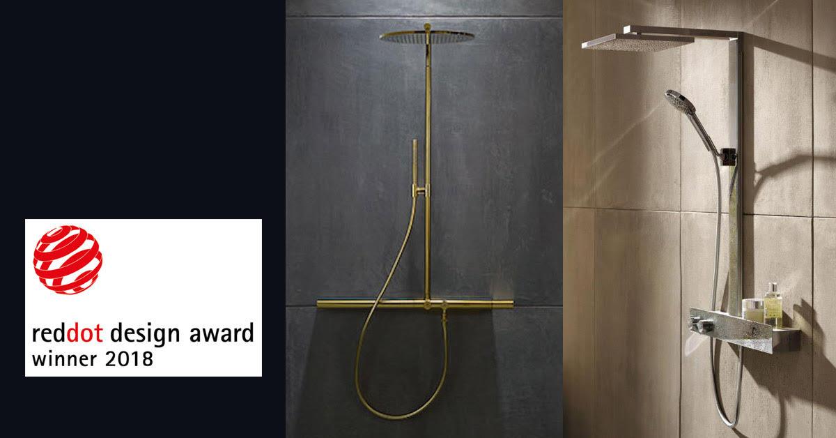 Designpriser for Raindance E og ShowerPipe 800