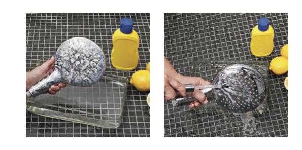 rengjøring av dusj og armaturer Hansgrohe