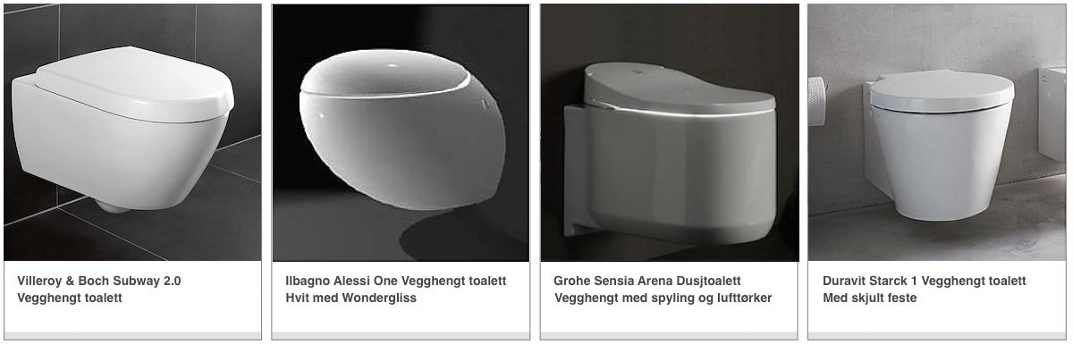 Valg av toalett Vegghengt toalett vvskupp.no