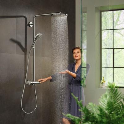 Hansgrohe Showerpipe Raindance vvskupp.no