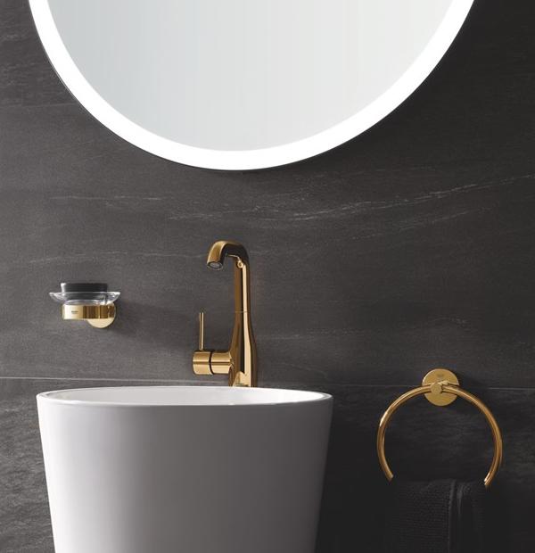 Pusse opp badet på lavbudsjett tilbehør baderom Grohe Essential