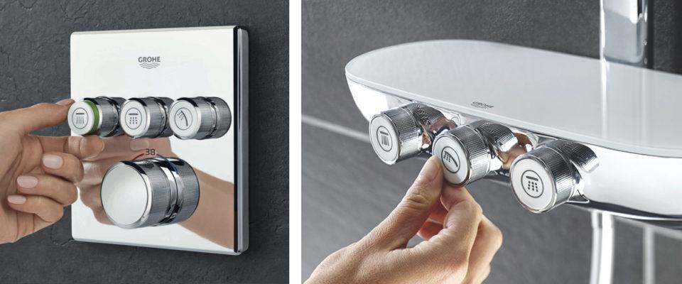 ny dusjtermostat Grohtherm Smartcontrol Grohe