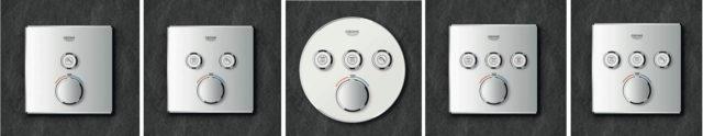 ny dusjtermostat grohe smartcontrol