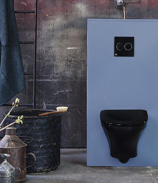 Gustavsberg toalett sort