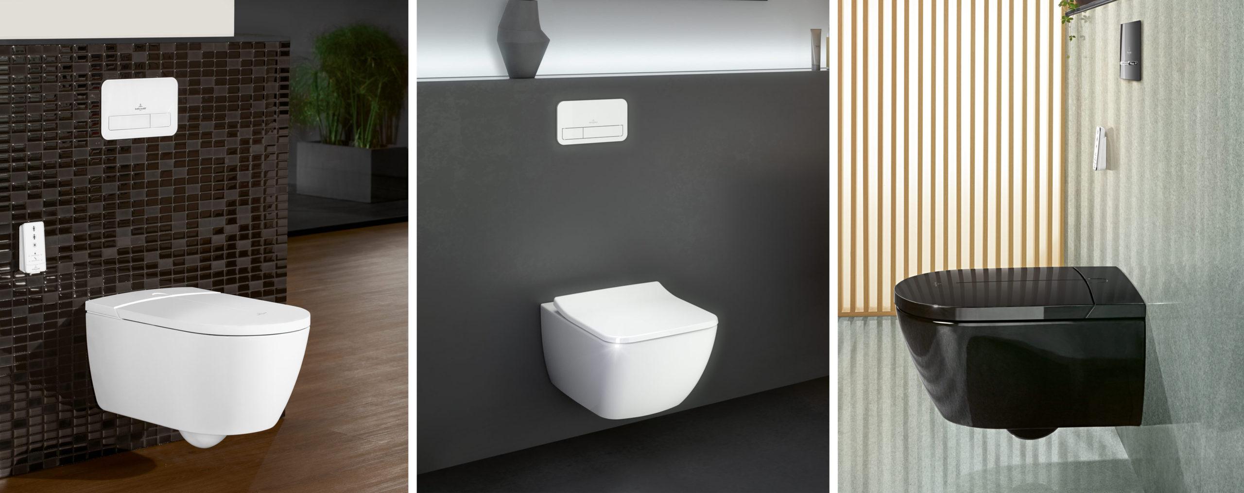 Villeroy & Boch toaletter dusjtoaletter