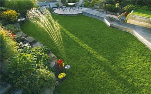 Hageredskap Gardena vannspreder sprinkler vvskupp