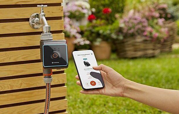 Gardena Smart System Water Control med bluetooth vvskupp